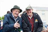 18/08/2016 repro free Ken Whittle and Roy Fossett from Walsh Island in County Offaly enjoying the craic at the 93rd annual Connemara Pony show in Clifden Co. Galway. Photo:Andrew Downes, XPOSURE