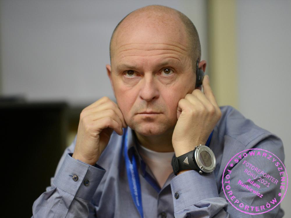 Konferencja trener&oacute;w szkolenia olimpijskiego<br /> Na zdj. Gerard Rietjens<br /> Fot. Piotr Hawalej