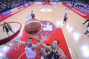 DESCRIZIONE : Pesaro Lega A 2013-14 VL Pesaro Sutor Montegranaro<br /> GIOCATORE : Marc Trasolini<br /> CATEGORIA : rimbalzo special<br /> SQUADRA : VL Pesaro Sutor Montegranaro<br /> EVENTO : Campionato Lega A 2013-2014<br /> GARA : VL Pesaro Sutor Montegranaro<br /> DATA : 23/02/2014<br /> SPORT : Pallacanestro <br /> AUTORE : Agenzia Ciamillo-Castoria/C.De Massis<br /> Galleria : Lega Basket A 2013-2014  <br /> Fotonotizia : Pesaro Lega A 2013-14 VL Pesaro Sutor Montegranaro<br /> Predefinita :