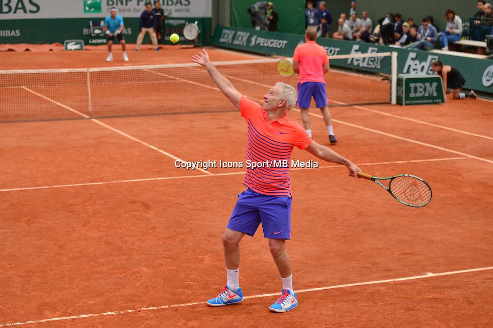 John McENROE / Patrick McENROE - 03.06.2015 - Jour 11 - Roland Garros 2015<br />Photo : Dave Winter / Icon Sport