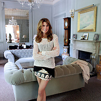 Christy Cashman, seen in her Back Bay home, is producing a new movie starring Parker Posey, Monday,  June 11, 2012.