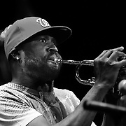 Rebirth Brass Band performs at THe Music Hall in Portsmouth, NH, April 8 2011