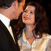 NLD/Amsterdam/200801010 - Premiere Sunset Boulevard, Erik Vogel en Caroline de Bruijn