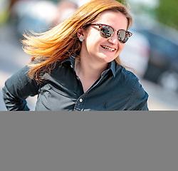 22.04.2018, Salzburg, AUT, Salzburger Landtagswahl, Wahlzentrum, im Bild FPÖ Spitzenkandidatin Marlene Svazek // during the Salzburg state election 2018 in the election center in Salzburg, Austria on 2018/04/22. EXPA Pictures © 2018, PhotoCredit: EXPA/ JFK