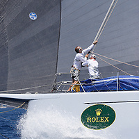 Alfa Romeo 2 - Neville Crichton.GIRAGLIA ROLEX CUP 2007. THIERRY SERAY/DPPI VOILE-EQUIPAGES-SAILING CREW-PART.1