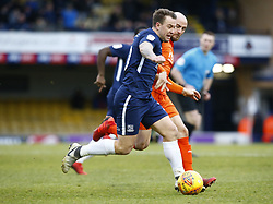 January 26, 2019 - Southend, England, United Kingdom - Simon Cox of Southend United.during Sky Bet League One match between Southend United and Luton Town at Roots Hall Ground, Southend, England on 26 Jan 2019. (Credit Image: © Action Foto Sport/NurPhoto via ZUMA Press)