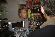 Ben Fogle, Opening of The Mutz Nutz; Westbourne Park Rd. London. 23 August 2006.  ONE TIME USE ONLY - DO NOT ARCHIVE  © Copyright Photograph by Dafydd Jones 66 Stockwell Park Rd. London SW9 0DA Tel 020 7733 0108 www.dafjones.com
