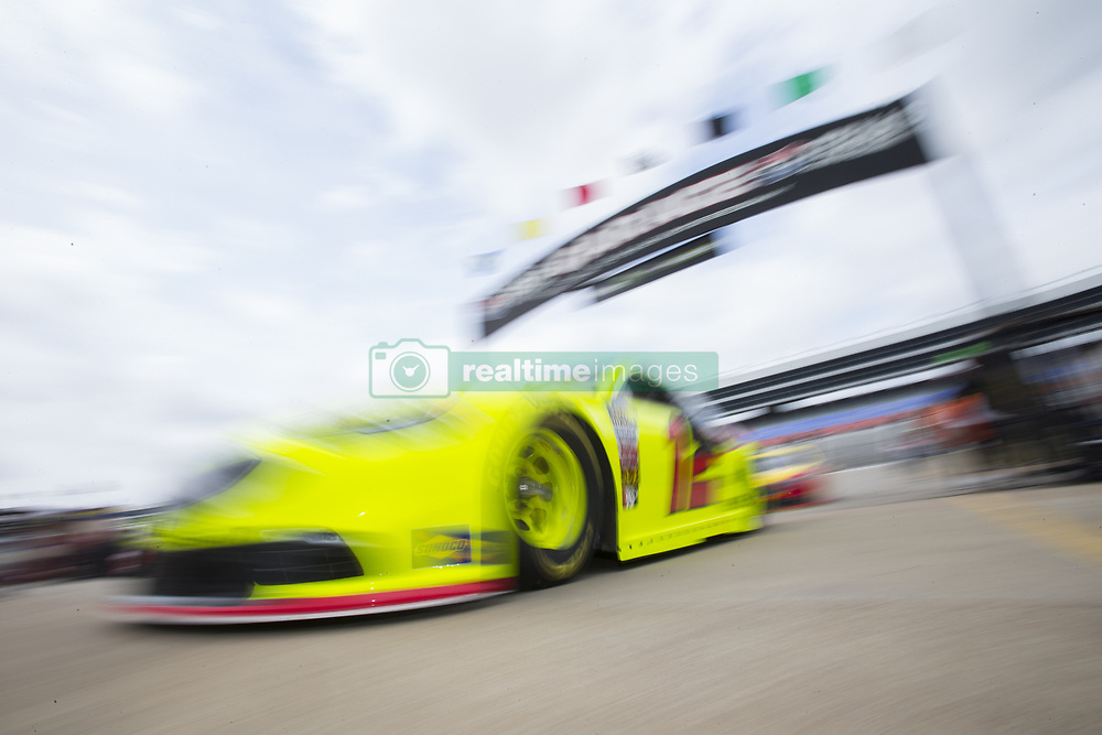 April 6, 2018 - Ft. Worth, Texas, United States of America - April 06, 2018 - Ft. Worth, Texas, USA: Ryan Blaney (12) comes in from practice for the O'Reilly Auto Parts 500 at Texas Motor Speedway in Ft. Worth, Texas. (Credit Image: © Stephen A. Arce Asp Inc/ASP via ZUMA Wire)