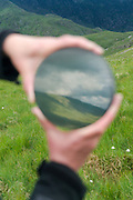 Images from the field visit to Snowdonia to photograh Inge Panneels work, made as part of the 'Walking Poets' project. the work as carried onto Snowdon and photographed in situ.