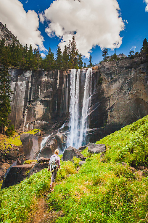 Vernal Falls, Mist Trail, Yosemite National Park, California
