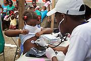 Dans une clinique de Médecins du Monde à <br />Cité Soleil (Port-au-Prince).