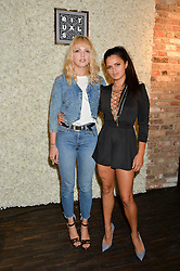 Left to right, Laura Hayden and Bip Ling at the launch of the new Rituals store at 29 James Street, Covent Garden, London on 1st September 2016.