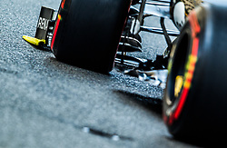 May 25, 2019 - Montecarlo, Monaco - Nico Hulkenberg of Germany and Renault F1 Team driver goes during the qualification session at Formula 1 Grand Prix de Monaco on May 25, 2019 in Monte Carlo, Monaco. (Credit Image: © Robert Szaniszlo/NurPhoto via ZUMA Press)
