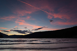 """Donner Lake Sunset 15"" - Photograph of a sunset at Donner Lake in Truckee, California."
