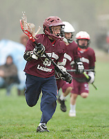 Lakes Region Lacrosse versus Generals U11 boys April 22, 2012.