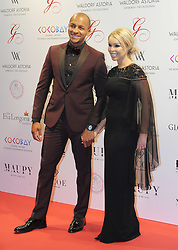 The Global Gift Gala Red Carpet, Wednesday 17th May 2017<br /> <br /> Katie Piper and husband James Sutton arrive on the red carpet<br /> <br /> The Global Gift Gala is a unique international initiative from the Global Gift Foundation, a charity founded by Maria Bravo that is dedicated to philanthropic events worldwide; to help raise funds and make a difference towards children and women across the globe.<br /> <br /> Charities benefiting from the 2017 Edinburgh Global Gift Gala include the  Eva Longoria Foundation, which aims to improve education and provide entrepreneurial opportunities for young women;  Place2Be which provides emotional and therapeutic services in primary and secondary schools, building children's resilience through talking, creative work and play; and the Global Gift Foundation with the opening of their first 'CASA GLOBAL GIFT', providing medical treatments and therapy for children affected by rare disease.<br /> <br /> (c) Aimee Todd | Edinburgh Elite media