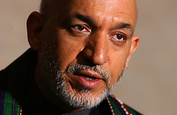 BRUSSELS, BELGIUM - MAY-12-2005 - Hamid Karzai - President of Afghanistan  (PHOTO © JOCK FISTICK)<br />