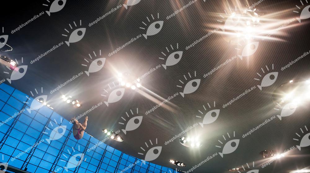CAGNOTTO Tania ITA<br /> London, Queen Elizabeth II Olympic Park Pool <br /> LEN 2016 European Aquatics Elite Championships <br /> Diving<br /> Women's 3m springboard preliminary <br /> Day 06 14-05-2016<br /> Photo Giorgio Perottino/Deepbluemedia/Insidefoto