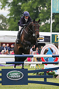 Fallulah ridden by Emily Philp in the Equi-Trek CCI-4* Show Jumping during the Bramham International Horse Trials 2019 at Bramham Park, Bramham, United Kingdom on 9 June 2019.