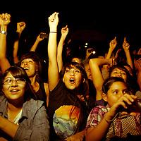 Los Bunkers en concierto dentro de la 26 Feria Internacional del libro de Guadalajara, lunes 26  de Noviembre del 2012 Foto: © Cortesía FIL Guadalajara/Bernardo De Niz