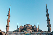 Blue Mosque, Sultan Ahmed Mosque, Istanbul, Turkey, 2015–11-13.