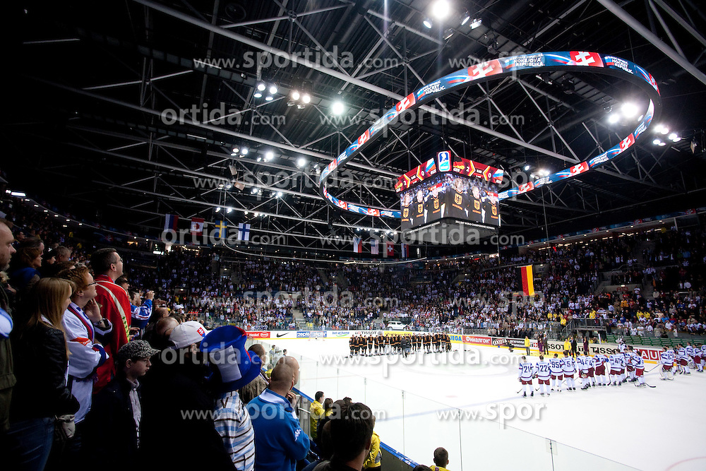 Arena Orange after the ice-hockey match between Germany and Russia of Group A of IIHF 2011 World Championship Slovakia, on April 29, 2011 in Orange Arena, Bratislava, Slovakia. Germany defeated Russia 2-0. (Photo By Vid Ponikvar / Sportida.com)
