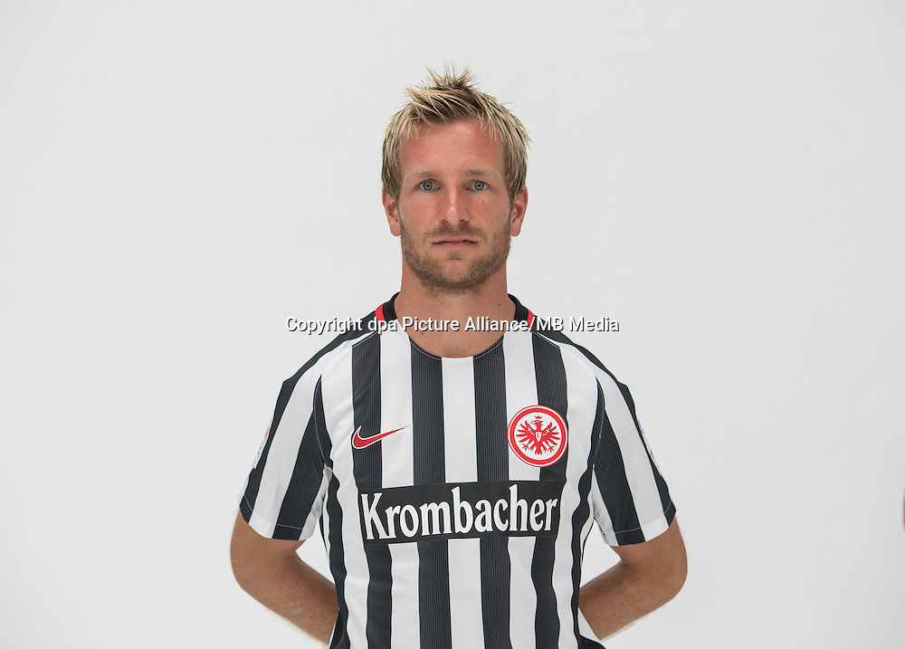 German Bundesliga - Season 2016/17 - Photocall Eintracht Frankfurt on 21 June 2016 in Frankfurt, Germany: Stefan Aigner. Photo: Handout/Eintracht Frankfurt/Hübner/dpa | usage worldwide