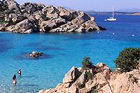 "Cala Coticcio - Caprera island - Maddalena archipelago - International Marin park of ""Bouches de Bonifacio"" - Sardinia - Italy"