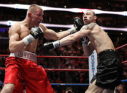 Feb 6, 2010; Newark, NJ; USA; Patrick Majewski decisions Anthony Pietrantonio over six rounds at the Prudential Center.