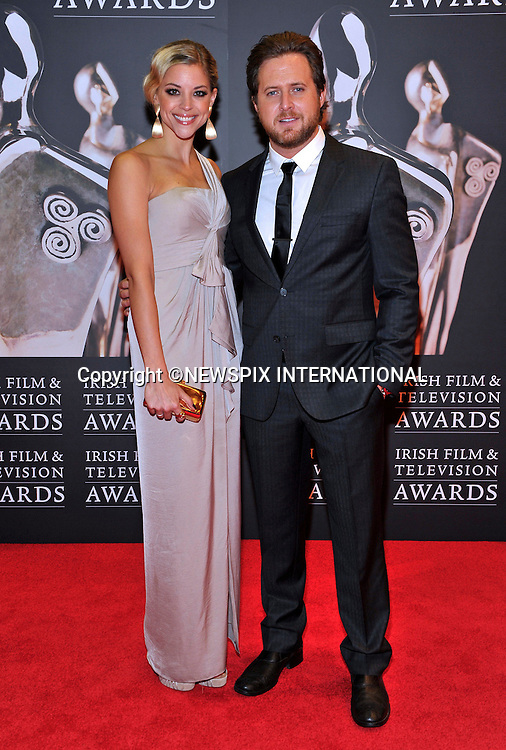 "AJ BUCKLEY AND ABIGAIL OCHSE.at the 9th Annual Irish Film and Television Awards, Convention Centre, Dublin_12/02/2012.Mandatory Photo Credit: ©Kopix/NEWSPIX INTERNATIONAL..**ALL FEES PAYABLE TO: ""NEWSPIX INTERNATIONAL""**..PHOTO CREDIT MANDATORY!!: NEWSPIX INTERNATIONAL(Failure to credit will incur a surcharge of 100% of reproduction fees)..IMMEDIATE CONFIRMATION OF USAGE REQUIRED:.Newspix International, 31 Chinnery Hill, Bishop's Stortford, ENGLAND CM23 3PS.Tel:+441279 324672  ; Fax: +441279656877.Mobile:  0777568 1153.e-mail: info@newspixinternational.co.uk"