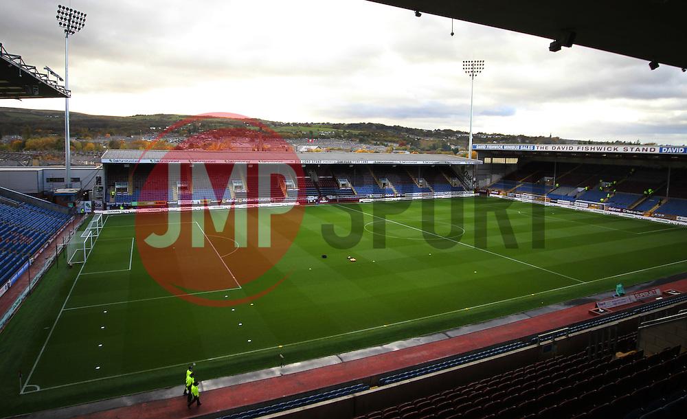 General view of Turf Moor Stadium before the match - Mandatory by-line: Jack Phillips/JMP - 05/11/2016 - FOOTBALL - Turf Moor - Burnley, England - Burnley v Crystal Palace - Premier League