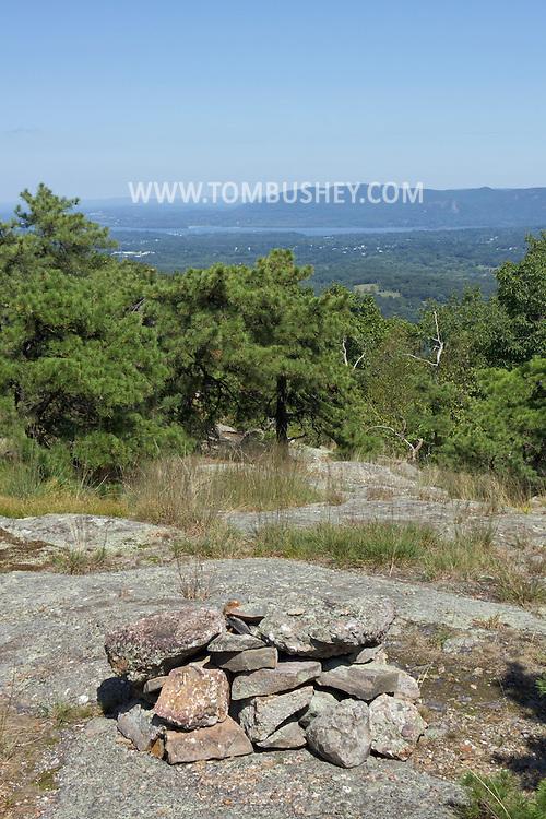 Salisbury Mills, New York - Hike up Schunnemunk Mountain on the Trestle Trail on Aug. 26, 2012.