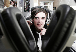OPENING OF TALLAGHT IT AUDIO VISUAL DEGREE SHOW<br />Pictured at the opening of the Institute of Technology Tallaght's Audio Visual Degree show on June 2nd 2005,   which goes on display in the college for four days begining Tuesday June 7th was Niall Jackson, Firhouse, Dublin.<br /><br />The show features creative work in Multimedia, Digital Video, Audio Production and Photography. This represents a selection from the portfolio of work of each graduating student. <br /><br />COMMISSIONED BY INSTITUTE OF TECHNOLOGY TALLAGHT<br /> *** Local Caption *** It is important to note that under the COPYRIGHT AND RELATED RIGHTS ACT 2000 the copyright of these photographs are the property of the photographer and they cannot be copied, scanned, reproduced or electronically stored in any form whatsoever without the written permission of the photographer