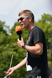 15.07.2014, Brandenburger Tor, Berlin, GER, FIFA WM, Empfang der Weltmeister in Deutschland, Finale, im Bild Toni Kroos (GER) // during Celebration of Team Germany for Champion of the FIFA Worldcup Brazil 2014 at the Brandenburger Tor in Berlin, Germany on 2014/07/15. EXPA Pictures © 2014, PhotoCredit: EXPA/ Eibner-Pressefoto/ Harzer  *****ATTENTION - OUT of GER*****