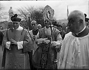 17/03/1961<br /> 03/17/1961<br /> 17 March 1961<br /> Patrician Year Ceremonies open Armagh. The Patrician Year, marking the fifteenth centenary of the death of Saint Patrick, opened on St. Patricks Day in Armagh.