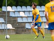 FODBOLD: Alexander Kadijevic (Ølstykke FC) under kampen i Serie 1 mellem Ølstykke FC og Brede IF den 3. juni 2017 på Ølstykke Stadion. Foto: Claus Birch