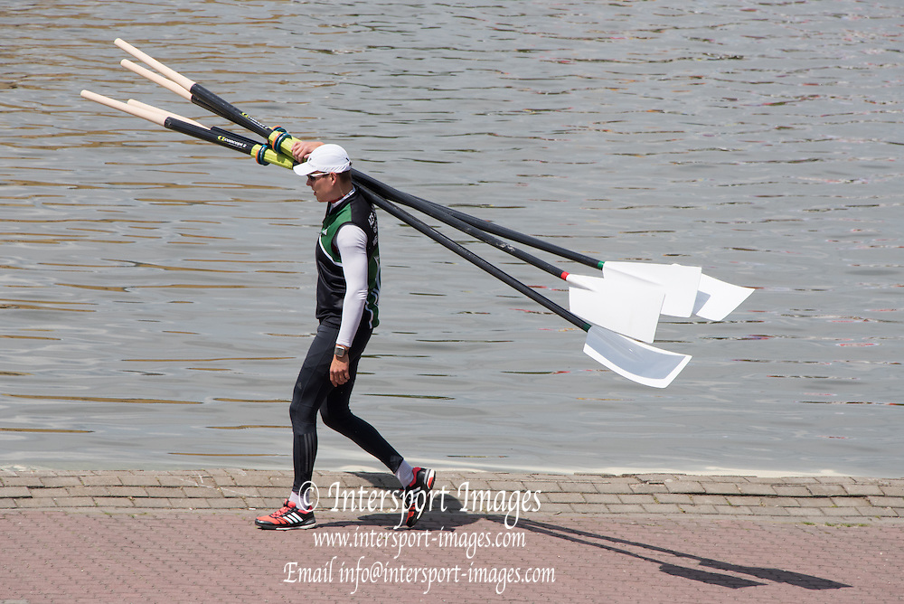 Poznan. Poland. General views at the FISA 2015 European Rowing Championships. Venue Lake Malta. 28.05.2015. [Mandatory Credit: Peter Spurrier/Intersport-images.com]