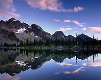 Drinnon Peak and Wicca Lake, Valhalla Provincial Park British Columbia
