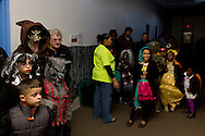 Middletown, New York  - People enjoy the Halloween Fall Festival at the Middletown YMCA Center for Youth Programs on Oct. 26, 2013.
