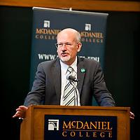 McDaniel College President Roger Casey