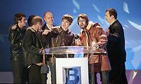 The BRIT Awards 1996 <br /> Monday 19 Feb 1996.<br /> Earls Court Exhibition Centre, London, England<br /> Photo: JM Enternational