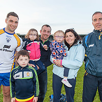 McGrath Family from Quin with Clare's Dean Ryan and Ger Keane