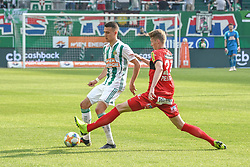 25.05.2019, Allianz Stadion, Wien, AUT, 1. FBL, SK Rapid Wien vs Cashpoint SCR Altach, Qualifikationsgruppe, 32. Spieltag, im Bild v.l. Dejan Ljubicic (Rapid Wien), Anderson dos Santos Gomes (SCR Altach) // during the tipico Bundesliga qualification group 32nd round match between SK Rapid Wien and Cashpoint SCR Altach at the Allianz Stadion in Wien, Austria on 2019/05/25. EXPA Pictures © 2019, PhotoCredit: EXPA/ Lukas Huter