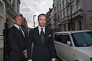 TOM FORD, London fundraising dinner for President Barack Obama. <br /> <br /> Mark's Club, 46 Charles Street, London, W1J 5EJ, 19 September 2012