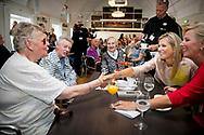 24-8-2017 UTRECHT - Queen Maxima is present at the celebration of the 650th anniversary of Bartholomew's Gasthuis in Utrecht on Thursday, August 24, 2017. Copyright Robin Utrecht<br /> <br /> 24-8-2017 UTRECHT - Koningin Maxima is donderdag 24 augustus 2017 aanwezig bij de viering van het 650-jarig bestaan van het Bartholomeus Gasthuis in Utrecht. Copyright Robin Utrecht