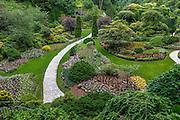 Sunken Garden at Butchart Gardens in Canada
