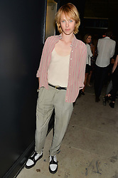 EDIE CAMPBELL at the Grand opening of Library - a new members club at 112 St Martin's Lane, London on 25th June 2014.