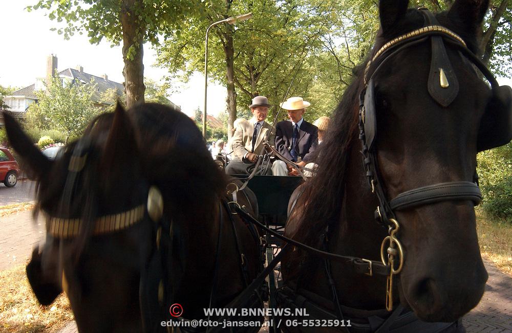 Vestingtocht 2003 Naarden, paarden en koetsen