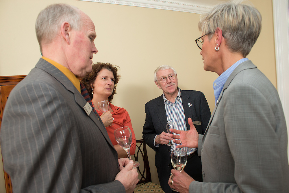 Faculty Scholars Reception at Gibbons Lodge  in London Ontario, Tuesday,  April 14, 2015.<br /> Western University/ Geoff Robins