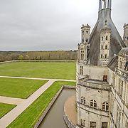 Chateau de Chambord<br /> 16th century<br /> (Collections of the Louvre were relocated there in 1939 with the outbreak of war)